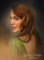 Pretty Face P2 - Angelina Jolie by artistamroashry