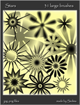 Stars - images for brushes by Sedma