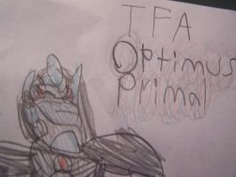 TFA Optimus Primal by Oskarmandude