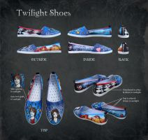 Twilight Shoes by Twilight-FIRE-n-ICE