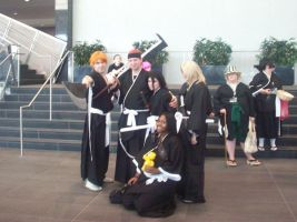 Me and my bleach Group by JayPrower