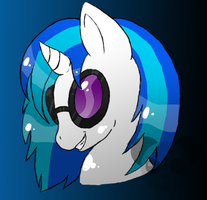 Vinyl Scratch by Poffyn