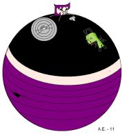 Gir hugging inflated Gaz by ZigZag123