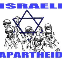 UN envoy hits Israel apartheid by Latuff2