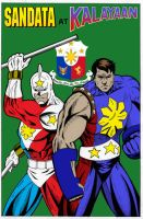 Sandata and Kalayaan by gioparedes