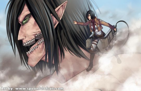 Attack on Titan by Spoonful0fcats