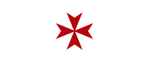 Standard of the Knights Hospitaller (Templar) by thelilpallywhocould