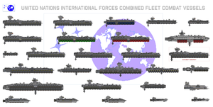 Size Chart - UN IFOR Combined Fleet Combat Vessels by Kelso323