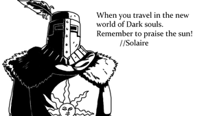 Solaire by MonsterWhacker