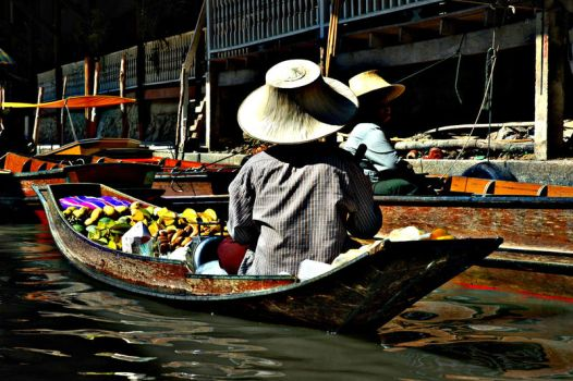life on floating market by choney25