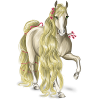 Flower Horse by ruthrr