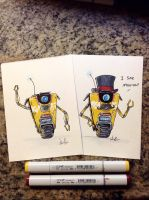 CL4P - TP sketch cards by MaddieLea