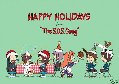 SOS Gang Holiday by JedMachine
