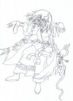 Aerie line art by Arenoth