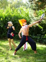 Wakfu cosplay  Iop Pride by Cosplay-Spirit-Team