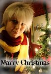 Jack Frost wish you all a Marry Chirstmas by HappyManga
