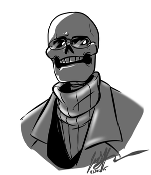 Dr. Gaster by KaleiC