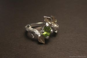 Floral Ring by anubiscollections