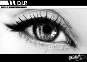GIRLS ILLUSTRATION-EYE STUDY1 by DIP-dippie