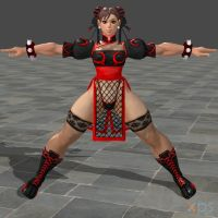 Chun Li Sexy Fire by DragonLord720