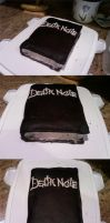 Death Note Cake by AxelLikesToast
