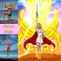 Patricia Mello Is She-Ra By Ulics by zenx007