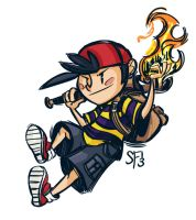 Ness Sketch by Tigerhawk01