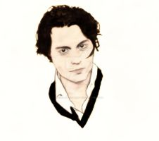 Johnny Depp by G1rl-W1th-Penc1l
