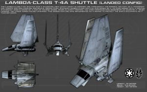 Lambda Class T-4a Shuttle ortho [1][New] by unusualsuspex
