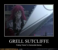 Grell Sutcliffe by FallenJace
