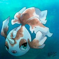 PKMN-Goldeen by Mikoto-chan
