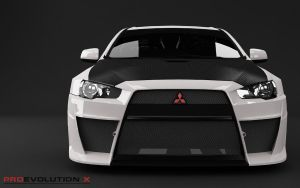 Evo X front by pnn