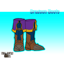 Bazaar: Salvager's Paradise: Dragoon Boots by SteadfastBlade