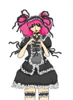 Gothic Lolita (Colored) by Phrose