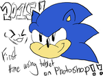 First Tablet Drawing 2015! by Sonicdude645