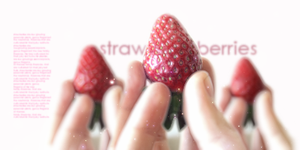 Strawberries Signature by fauxonym7