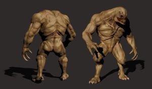 Alien Brute Textured by Akiratang