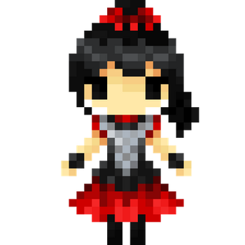 Su-Metal Pixel Art by Mikawhat