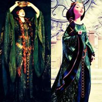 Ellen Terry As Lady Macbeth Vs. Queen Elinor by Claudette900