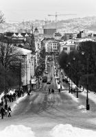Karl Johans gate by M-M-X