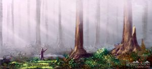 Foggy Forest by Syntetyc