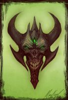 Green Festering Thing by marcnail