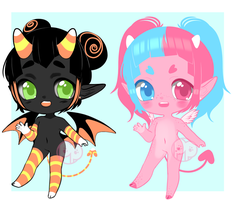 [A] Candy Imps [CLOSED] by Pikapaws