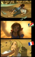 France and Seashells by TheLonelyMoon8