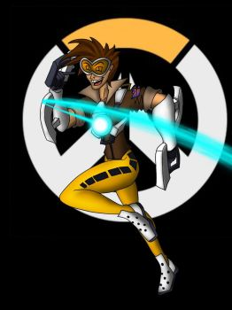Overwatch - Tracer by What-the-Gaff