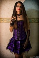Purple Goth by skullkill88