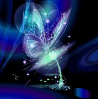 Galactic Butterfly by VeronicaVK7