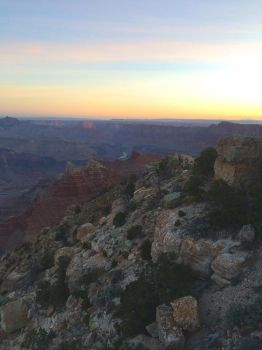 Sunrise at the Grand Canyon (2) by WhiteFireDragonx7
