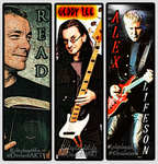 Rush Bookmarks by roleplay4life
