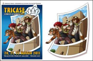 Tricase Comics Official Poster by Tenaga